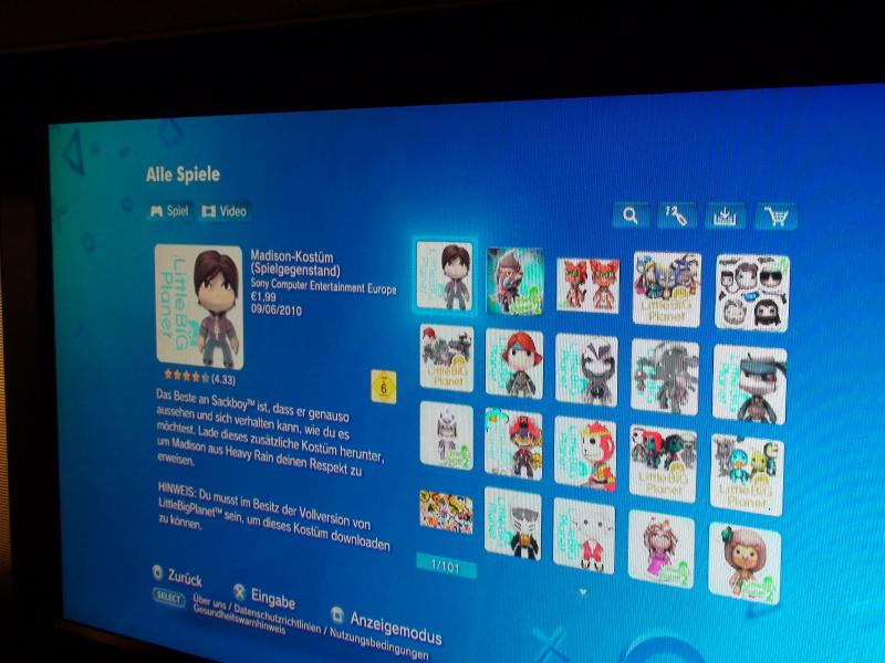 Kostüm DLCs von LittleBigPlanet2